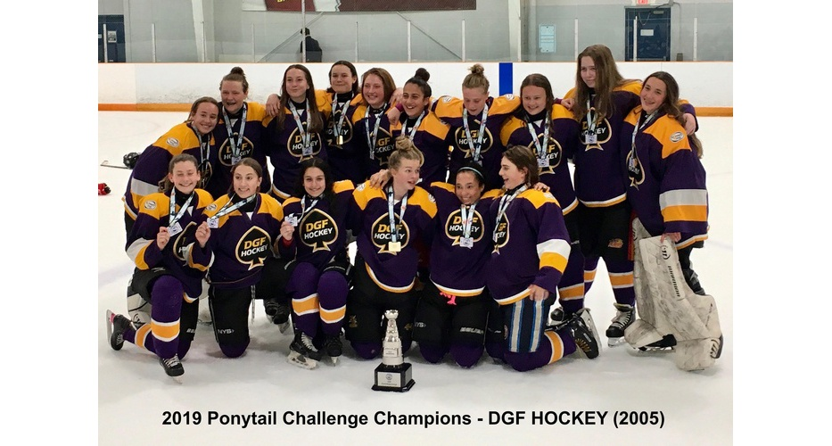 Ponytail Girls Hockey